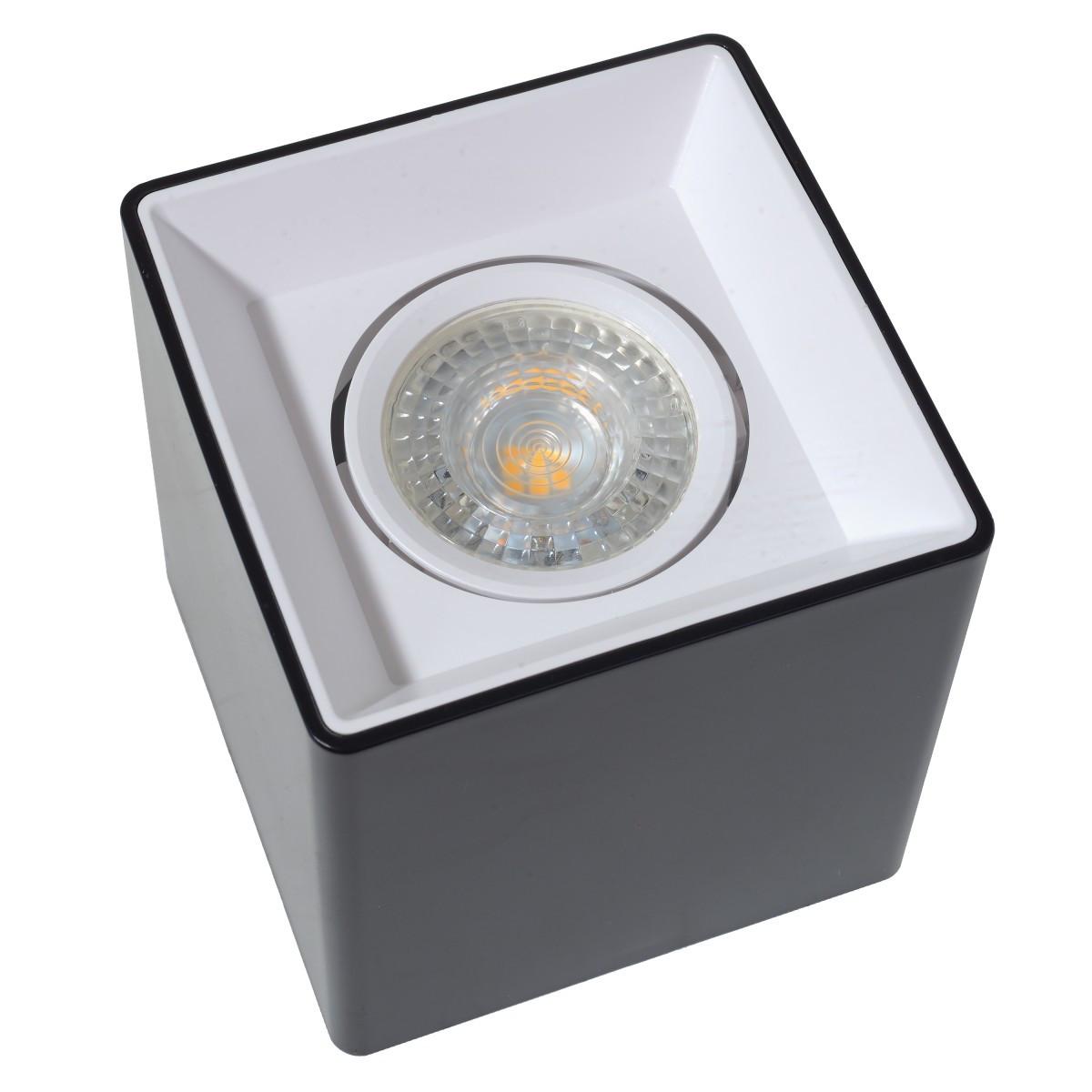 AL-710/1 GU5.3 BK/WH подсветка