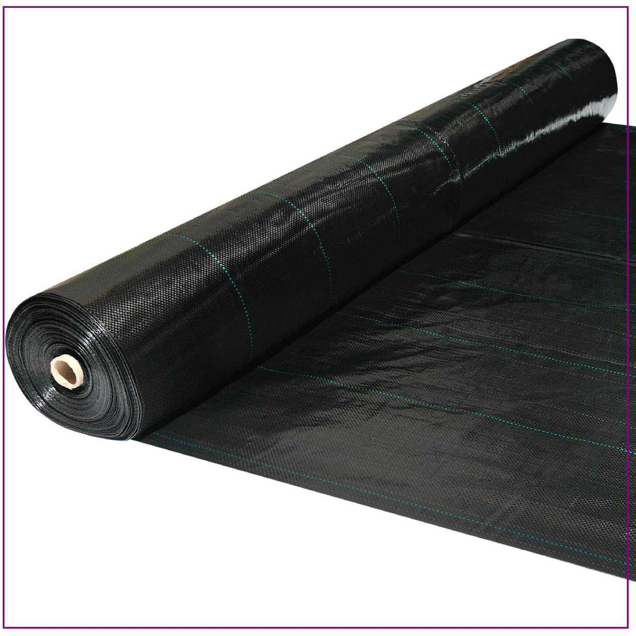 Агроткань  черная 100 г/м² , 1,7 х 50 м.