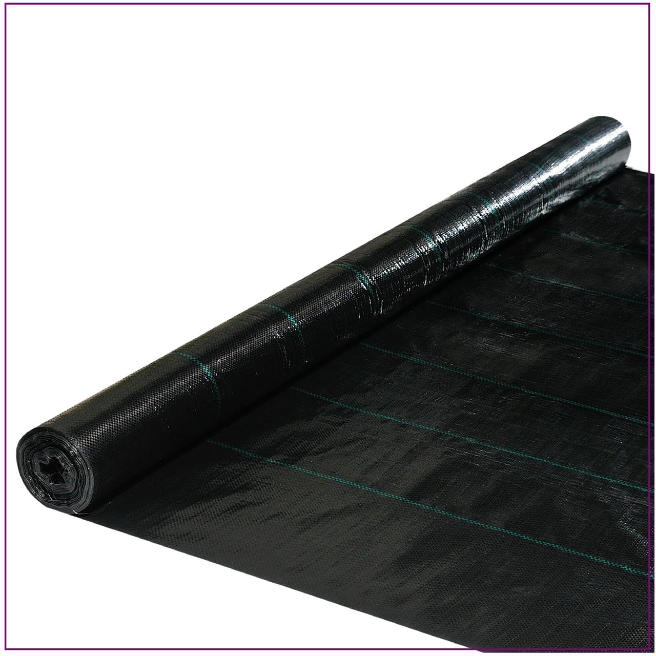 Агроткань  черная 100 г/м² , 3.4 х 25 м.