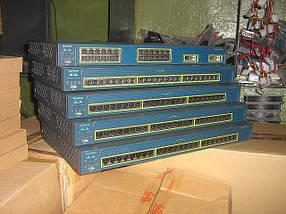 Коммутатор Cisco WS-C2950G-24-EI (24 10/100 ports and two fixed GBIC-based 1000BASE-X uplink ports)