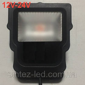 Светодиодный прожектор SL-10 10W 12-24V DC 6000К IP65 Код.59316