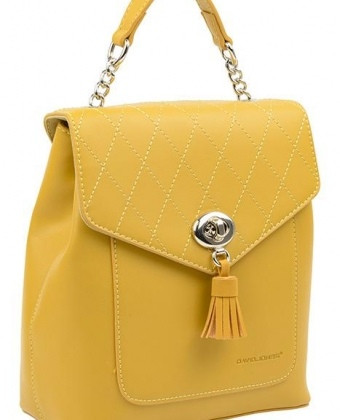 Міський жіночий рюкзак David Jones, жовтий / жіночий рюкзак
