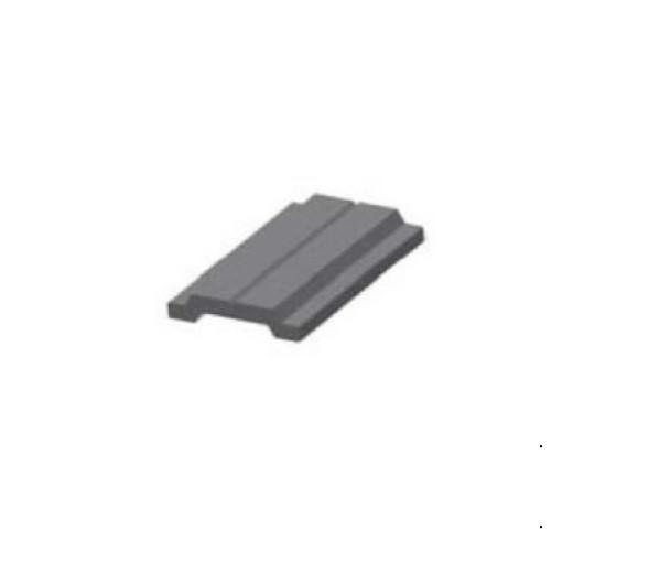 Фурнитурная тяга для алюминиевых ставней длина 0.5 м.