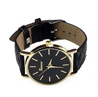 Женские наручные часы Geneva кварцевые - черные