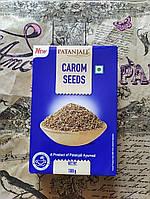 Ажгон, тмин, аджвайн семена Патанджали, Carom Seeds Patanjali, 100г