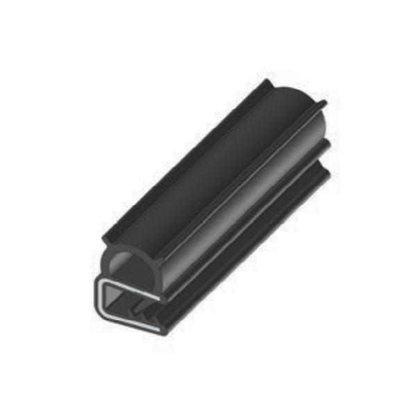 Ущільнювач гумовий п подібний RZ A1.006, EPDM, для електрошаф, до 3 мм
