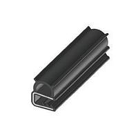 Уплотнитель резиновый п образный RZ A1.006, EPDM, для электрошкафов, до 3 мм