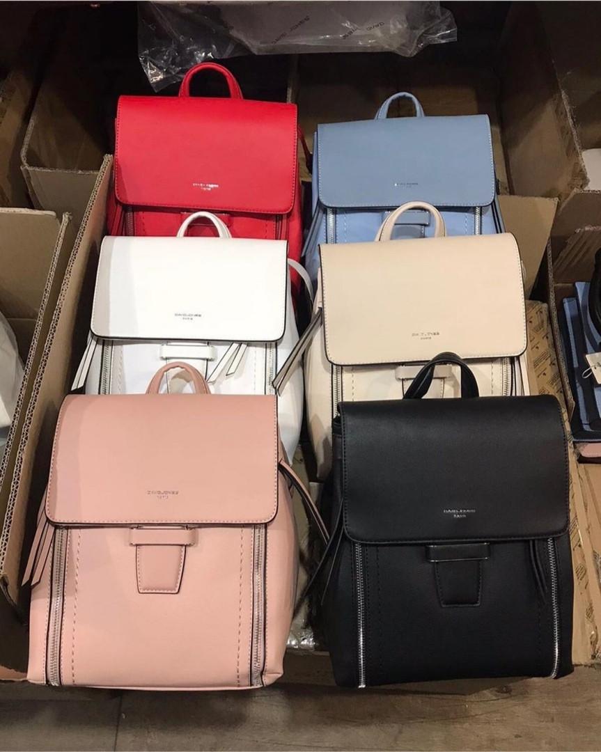 Стильный городской женский рюкзак David Jones / жіночий рюкзак