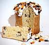 Сочный заварной кулич с орехами и сухофруктами, фото 3