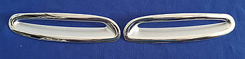 Хром накладки на задний бамер Mazda 6 2002-2007