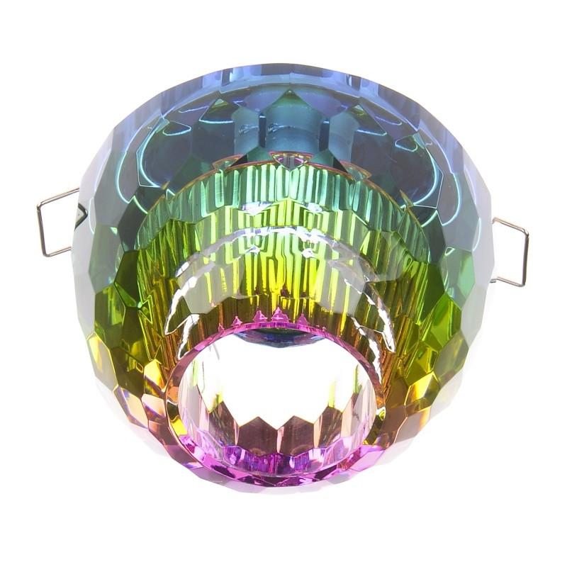 HDL-G149 Colorful Crystal светильник точечный декоративный