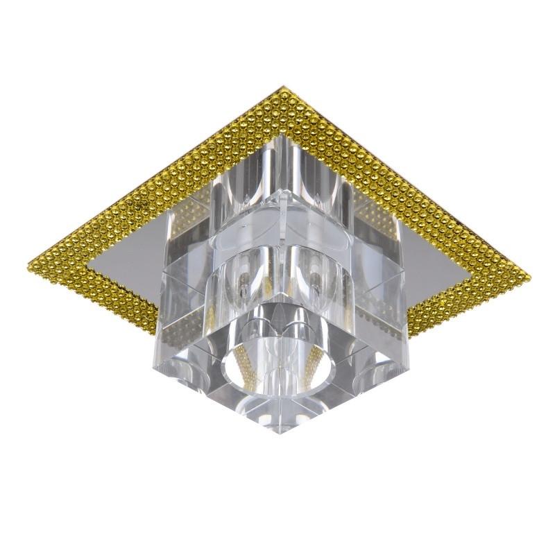HDL-G164 White Crystal светильник точечный декоративный