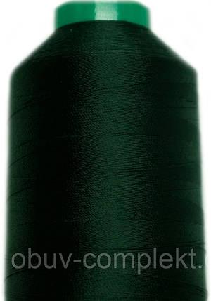 Нить Титан №20 2000 м. Польша цвет (2597) темнозелений, фото 2