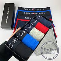 Набор трусов Tommy Hilfiger мужские боксеры томми хилфигер 5 шт хлопок