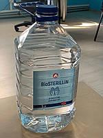 Дезинфицирующие средство для рук и поверхностей BIOSTERILLIN (5л ЖИДКИЙ) антисептик санитайзер Спирт 75%
