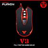 Геймерская мышь / Игровая мышь Fantech Furion V3 Оригинал, цвет Чёрный, фото 4