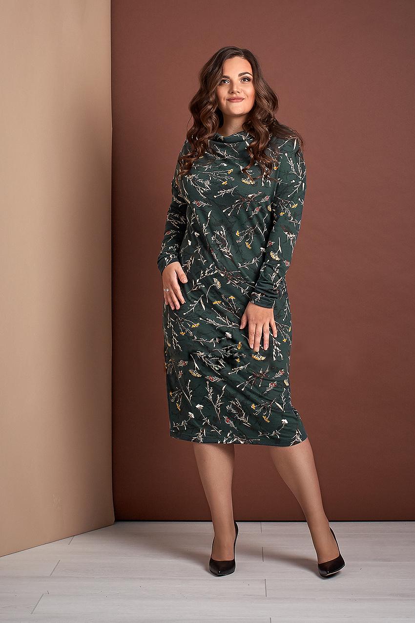 Трикотажна сукня прямого силуету Style-nika Алюр.