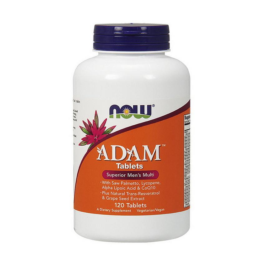 Витамины для мужчин NOW Foods Adam 120 tab