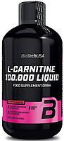 Лучший Л-карнитин для похудения BioTech USA L-Carnitine 100000 (500 ml)