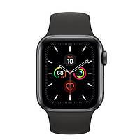 Смарт-часы Apple Watch Series 5 GPS 40mm Space Gray Aluminum w. Black b.- Space Gray Aluminum (MWV82)