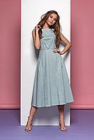 Платье из хлопка с оригинальным дизайном Style-nika Круиз.
