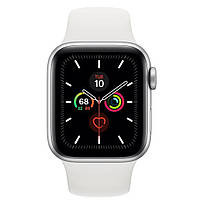 Смарт-часы Apple Watch Series 5 GPS 40mm Silver Aluminum w. White b.- Silver Aluminum (MWV62)