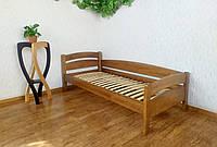 """Кровать подростковая из массива дерева от производителя """"Марта"""" (светлый дуб) 90х200, светлый дуб"""