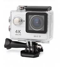 Action Camera Eken H9R Ultra HD с пультом (Серебристый), фото 2