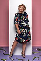 Легкое женственное платье в цветочный принт Style-nika Денс.