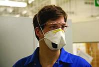 Защитная маска респиратор противовирусная ЗМ   K111 FFP1 с клапаном выдоха Cool Flow