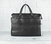 Деловой портфель, сумка для документов Giorgio Armani 516-4 формата А-4, искусственная кожа