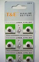 Алкалінова батарейка-таблетка T&E LR521/LR69 GO 1.55 V