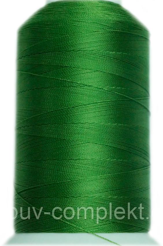 Нить Титан №20 2000 м. Польша цвет (2576) світлозелений