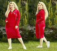 Платья для полных девушек оптом, спортивные бархатные платья