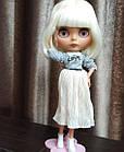 Шарнирная кукла Айси (Блайз), белый цвет волос + 10 пар кистей, одежда и обувь в подарок, фото 8