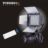 Cветодиодный накамерный видео свет Yongnuo yn-160 II (YN-160 II), фото 1