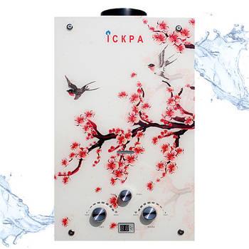 Газова колонка Іскра 10 L Oriental cherry branch (Гілка сакури)