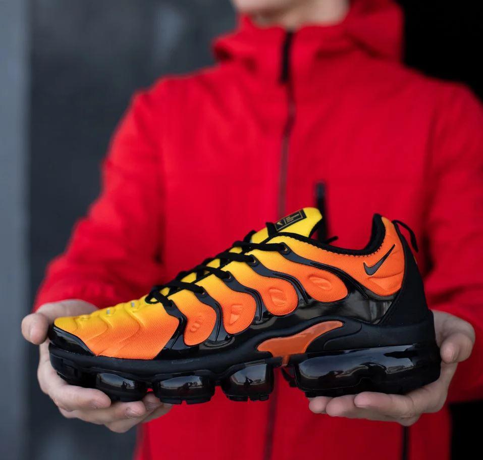 """Кроссовки Nike Air Vapormax Plus Sunset """"Оранжевые"""""""