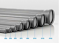 Труба канализационная монтажная PP3 Valsir ∅32 L=500 мм