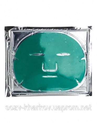 """Колагенова балансує маска з зеленим чаєм для жирної і змішаної шкіри """"Контроль"""", Beauty Style"""