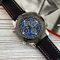 AMST 3022 Black-Silver-Blue, фото 3