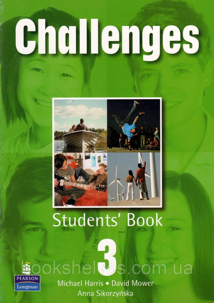 Учебник  Challenges 3 Student's book