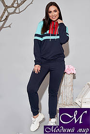 Женский трикотажный костюм спортивный (р. 48-50, 52-54, 56-58, 60-62) арт. 34-608