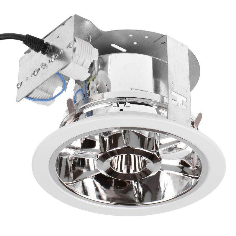 DL-06W 2x18W WH Потолочный встроенный светильник