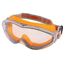 Очки защитные для респиратора Химк-2,4. Сталкер-1,2 Provide (линза не потеющая ПК стекло, антицарапина)   VTR