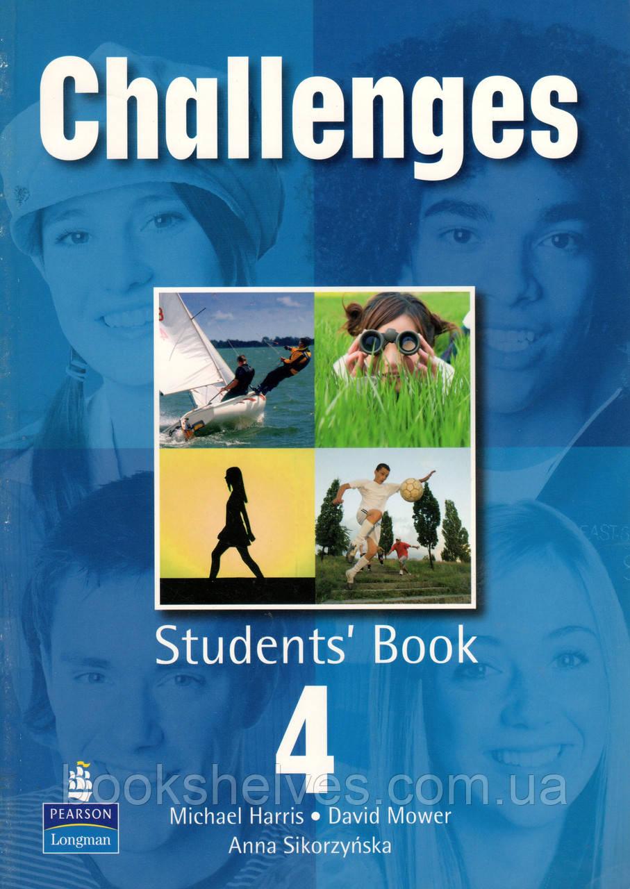 Підручник Challenges 4 student's book