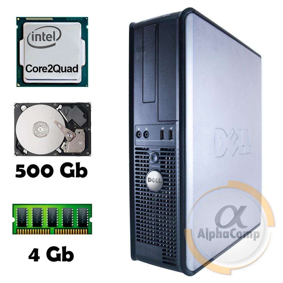 Компьютер Dell 380 (Core2Quad Q9300/4Gb/500Gb) БУ