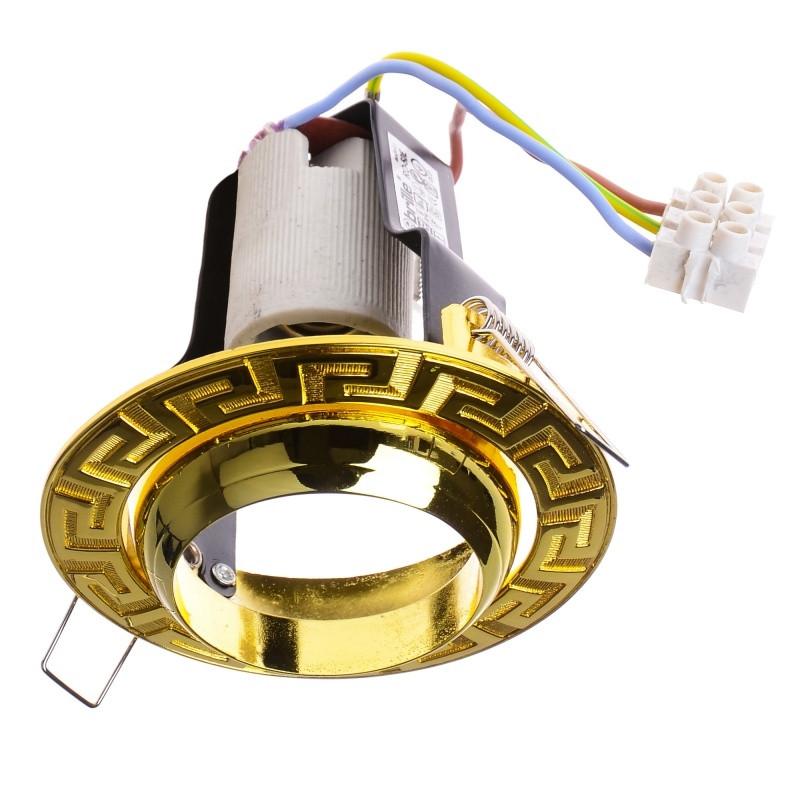 RO-50E PB светильник точечный поворотный