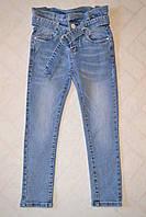 Джинсовые брюки Mom на высокой талии, для девочек 6-16 лет Фирма S&D.Венгрия