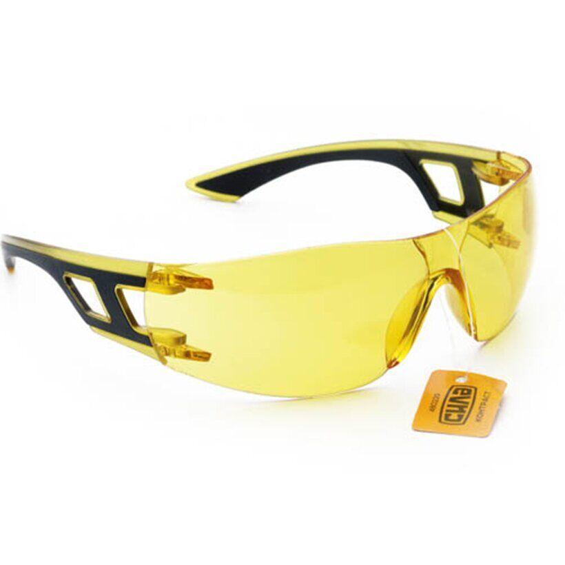 Очки защитные КОНТРАСТ (желтые) | СИЛА 480229